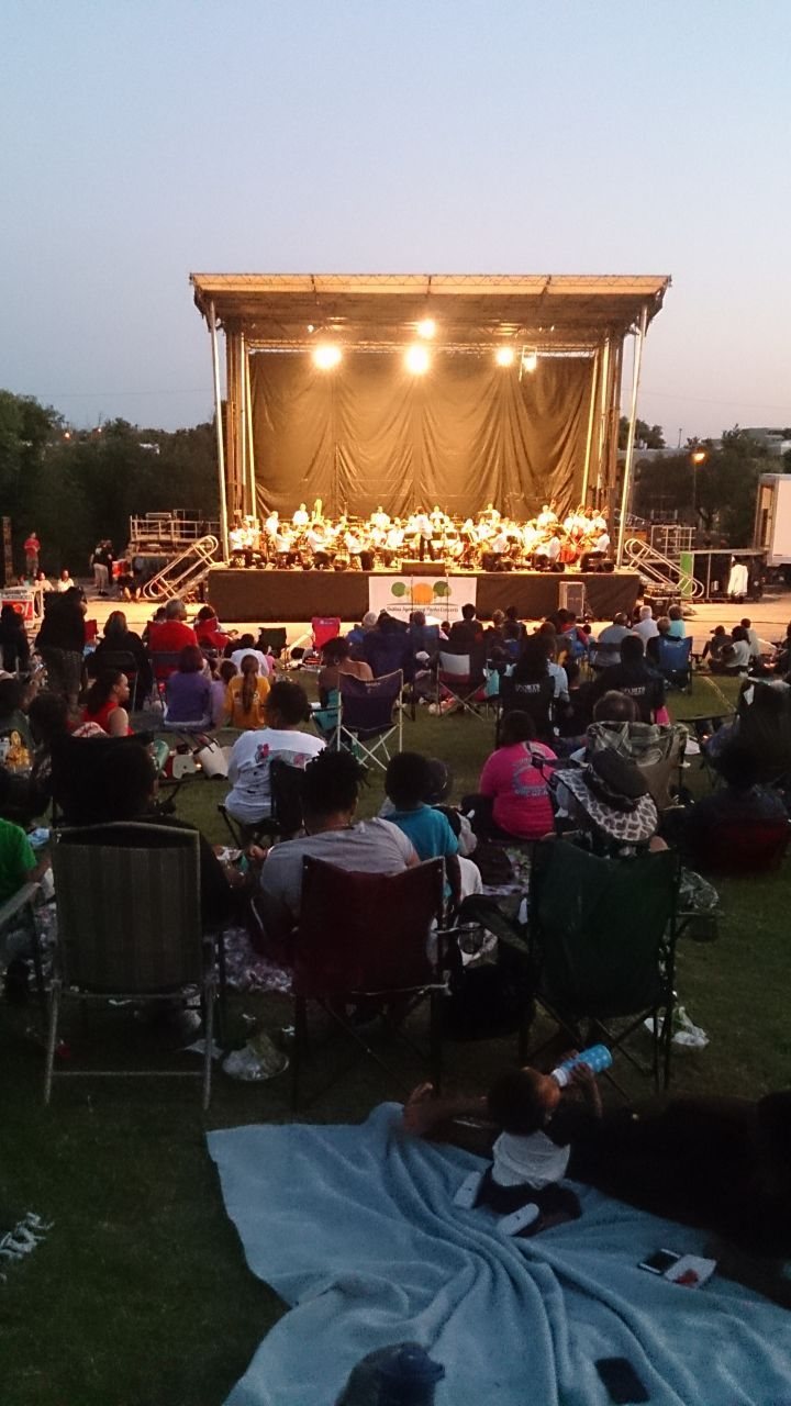 Under the Stars Community Concert at Paul Quinn College