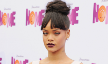 Rihanna Home, Not Smiling