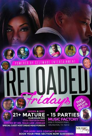 Reload Fridays at Music Factory