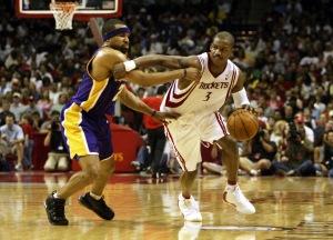 Lakers v Rockets