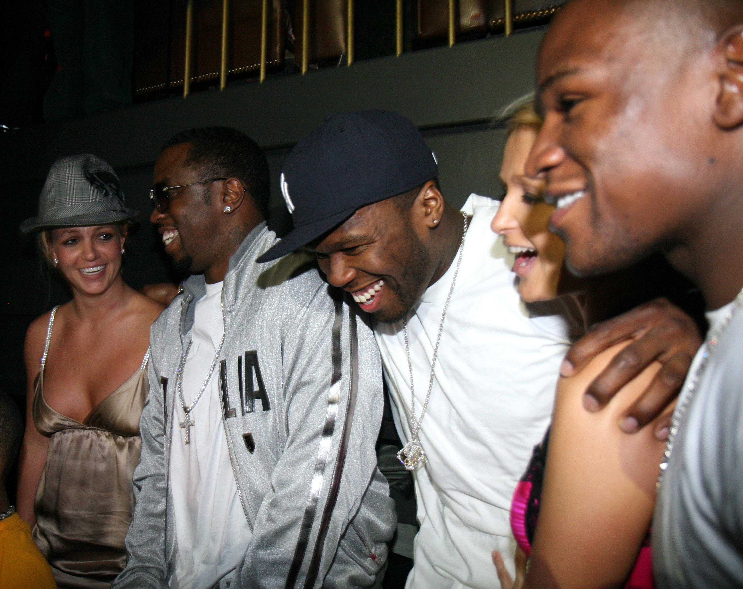 50 Cent Hosts Party at The Hard Rock