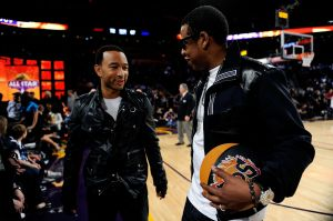 2009 NBA All-Star Game Celebrities and Performances