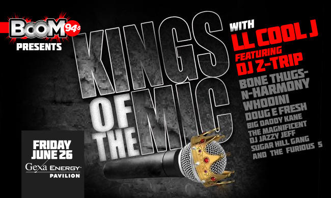 Boom 94.5 Kings of the Mic Flyer
