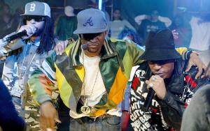MTV's TRL with Usher, Ludacris and Lil Jon