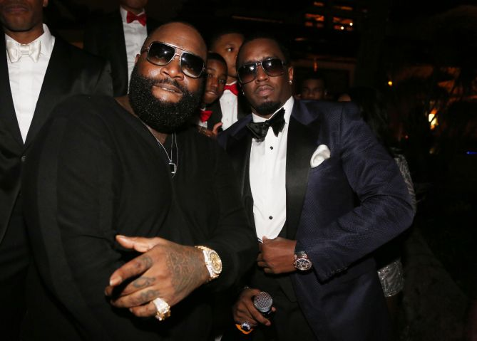 Sean 'Diddy' Combs Hosts CIROC The New Year 2014 At Private Miami Estate