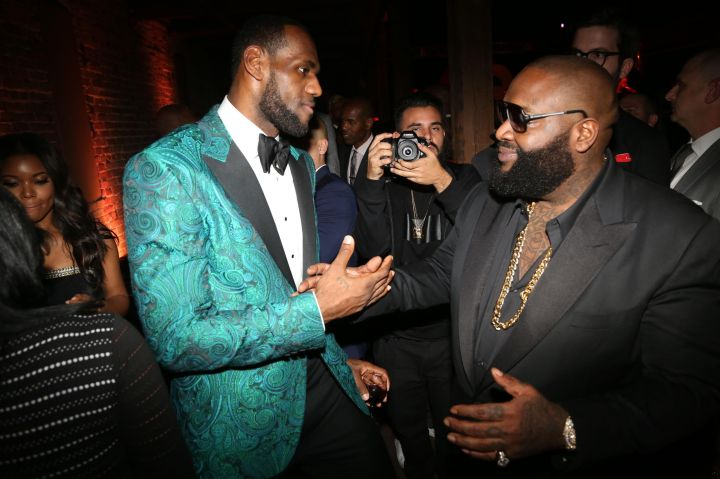 GQ NBA All Star Party Hosted By Lebron James - NBA All-Star Weekend 2014