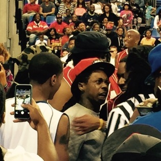 Lil Wayne Referee Incident