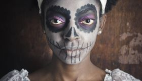 Voodoo Sugar Skull Woman