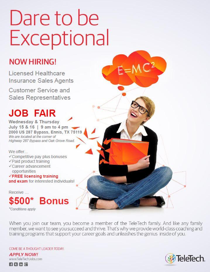 Teletech Job Fair