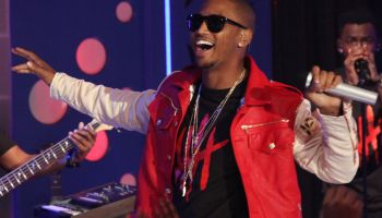 Trey Songz Visits BET's '106 & Park'