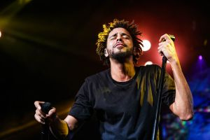J. Cole At Super Jam 2015