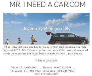 Mr. I Need a car.com