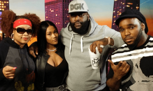 Rick Ross & Lira Mercer aka Lira Galore On The Rickey Smiley Morning Show