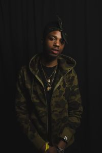 producer Metro Boomin at The Fader Fort