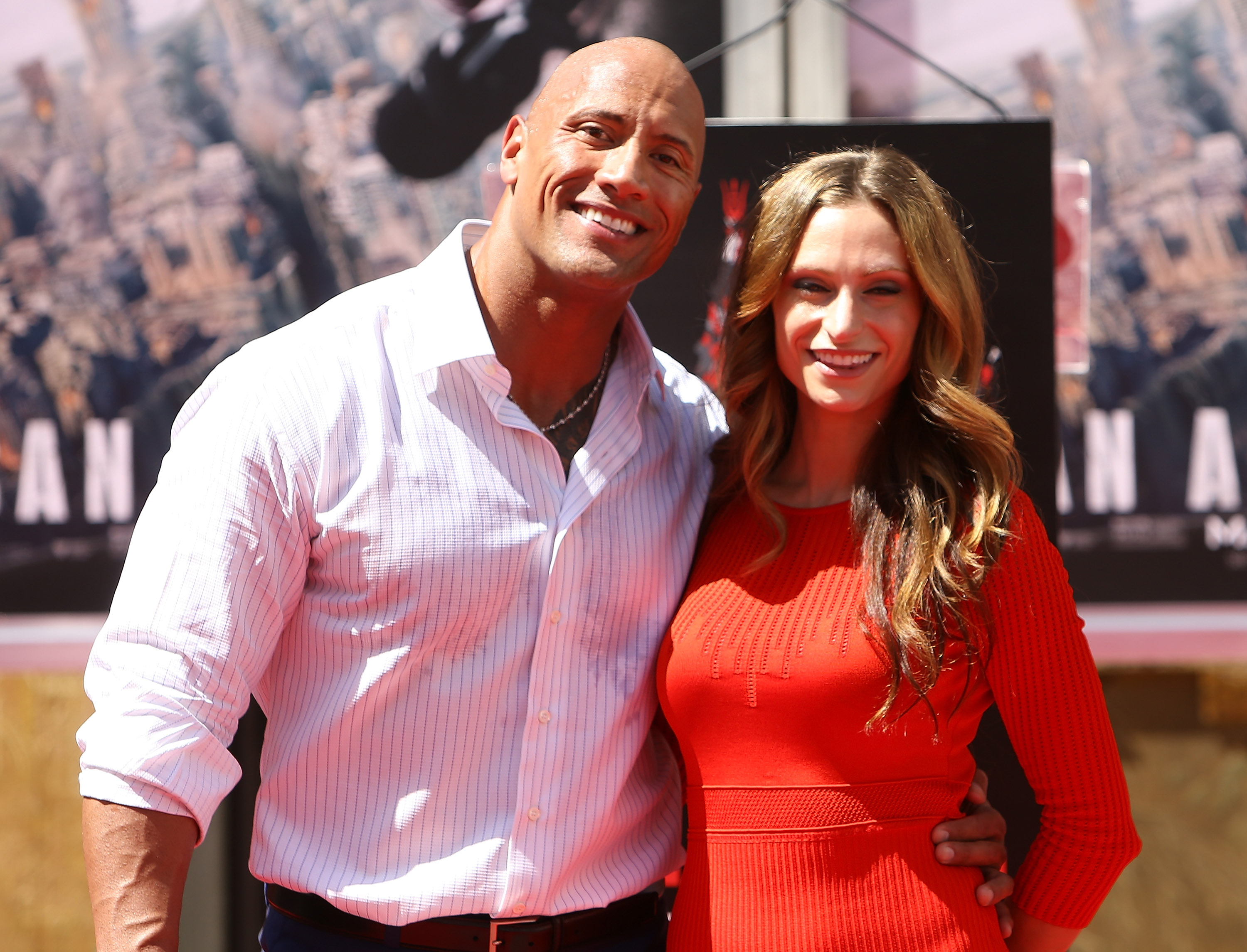 Dwayne 'The Rock' Johnson Hand/Footprint Ceremony