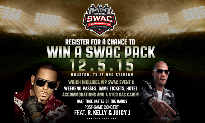 SWAC Tournament Grand Prize Giveaway