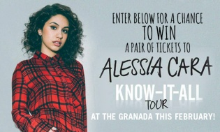 The Alessia Cara Know-It-All Tour Ticket Giveaway sweepstakes