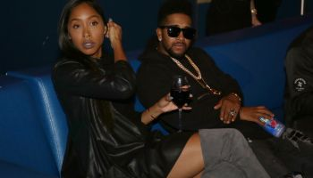 Omarion Visits The Pool After Dark At Harrah's Resort