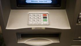 cash machine key pad