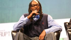 Snoop dogg at Tech Crunch