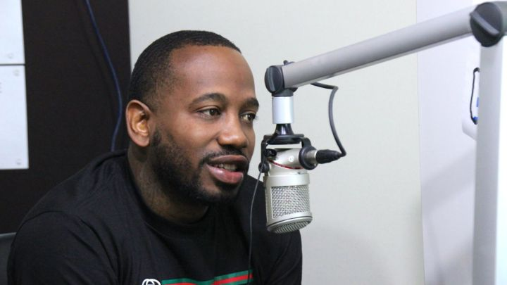 Young Greatness at 92.7 The Block