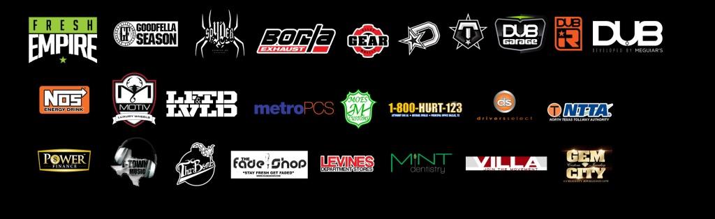 dub car show dallas sponsors