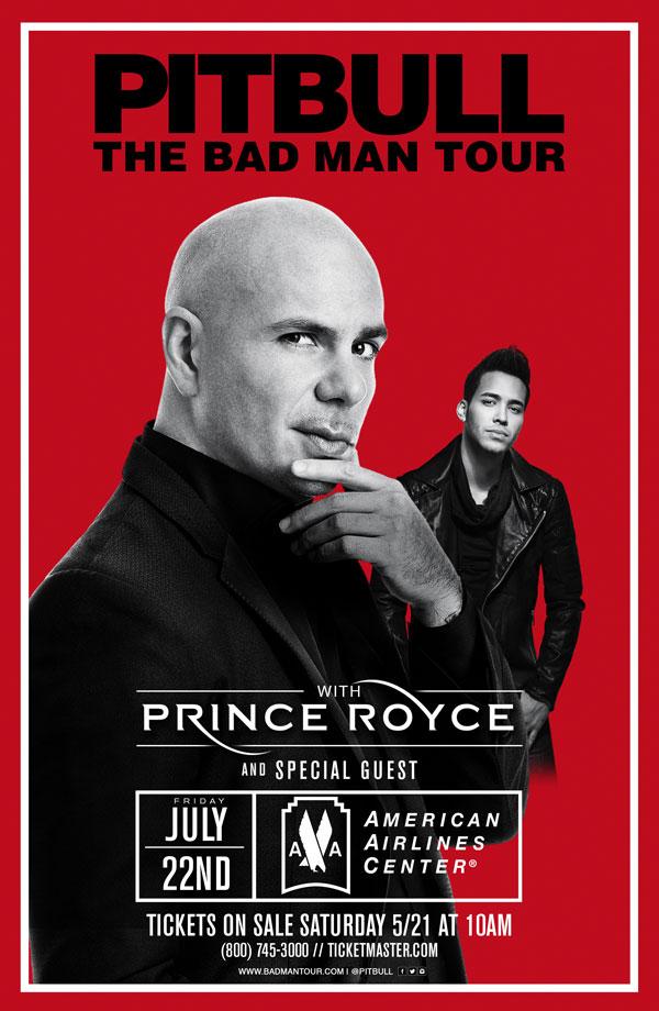 Pitbull with Prince Royce