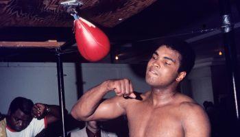 Muhammad Ali. Cassius Clay. 1968