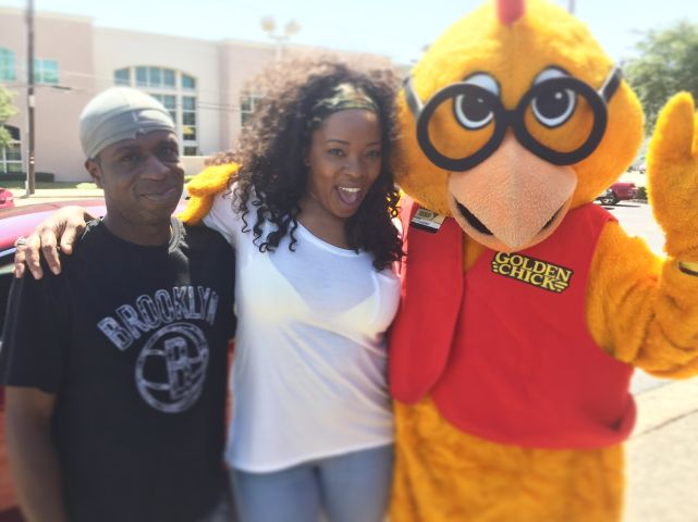 97.9 The Beat @ Golden Chick