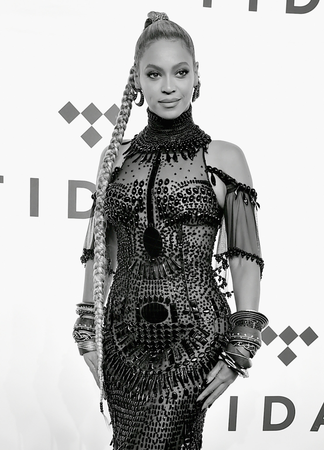 Celebrity Arrivals at TIDAL X: 1015 concert in Brooklyn: Beyonce, Nicki Minaj, T.I., Emeli Sande