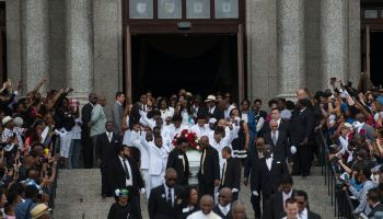Funeral Held For MN Police Shooting Victim Philando Castile