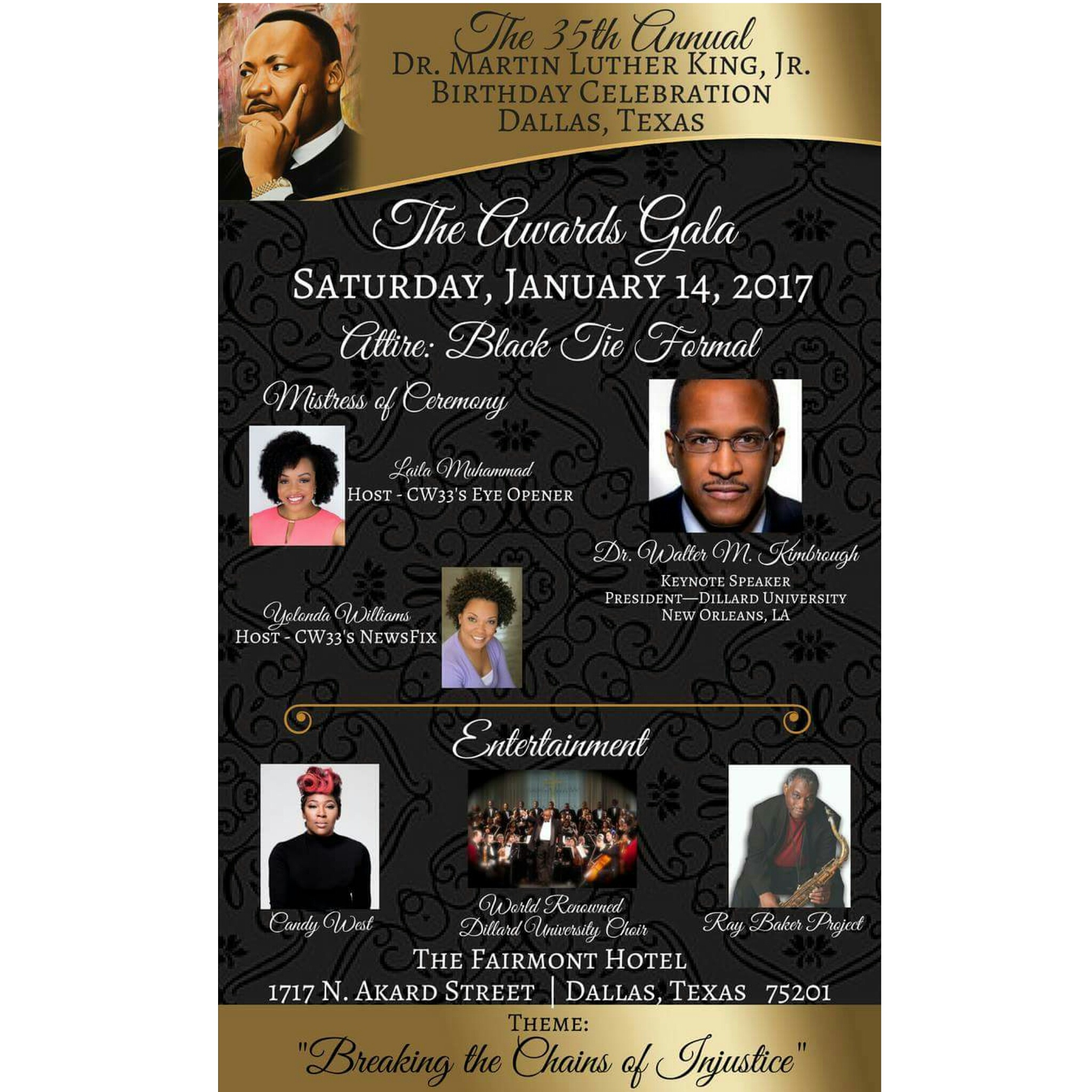 The 35th Annual Dr. Martin Luther King, Jr. Birthday Celebration