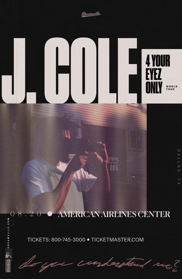 J. Cole 4 Your Eyez Only Tour