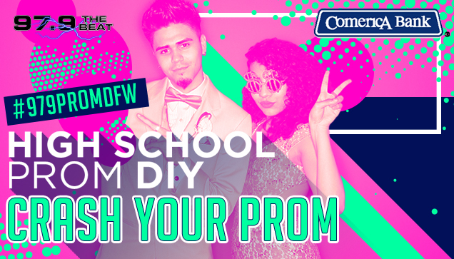 Crash your Prom High School Prom DIY