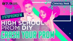 Crash your Prom High School Prom DIY