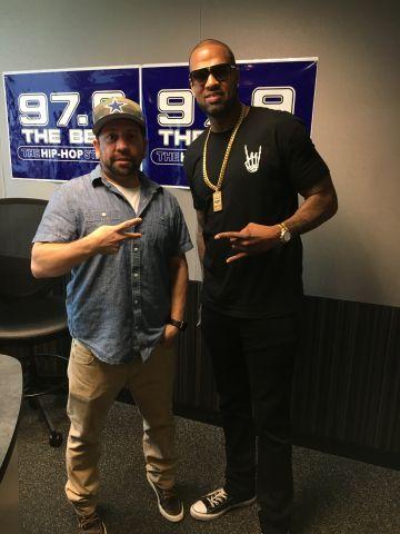 Slim Thug at 97.9 The Beat