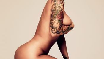 amber rose for gq