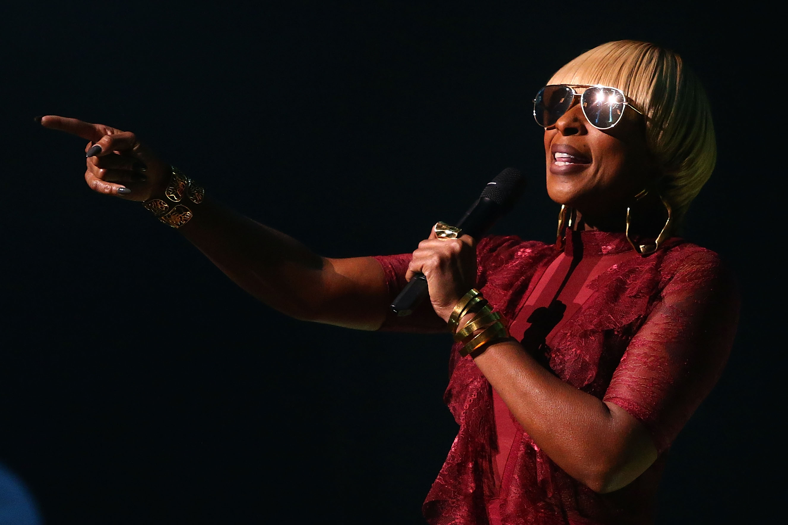 Mary J. Blige Performs In Melbourne