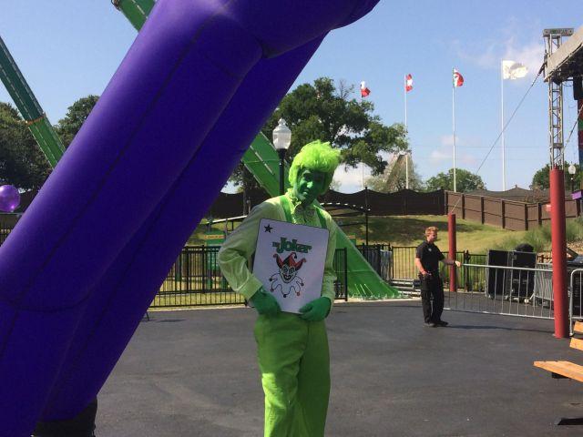 Six Flags Over Texas New Ride: The Joker