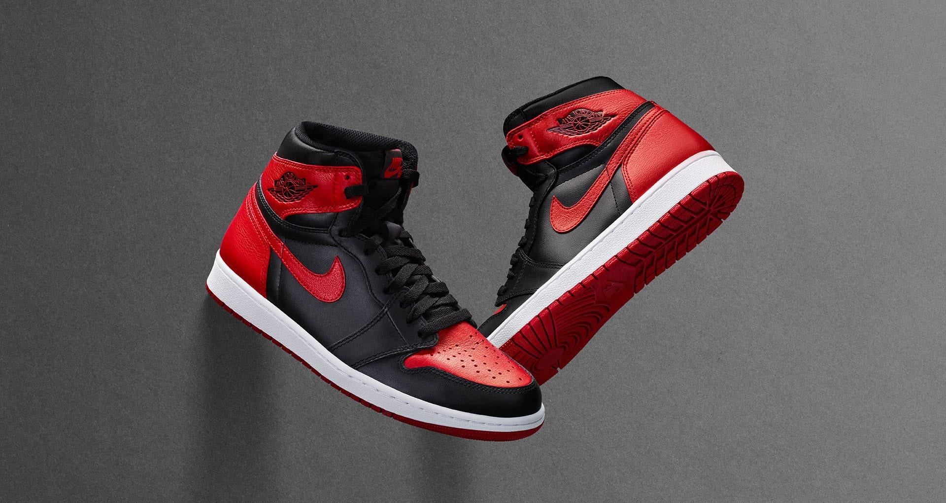 """Air Jordan1 """"Banned"""""""