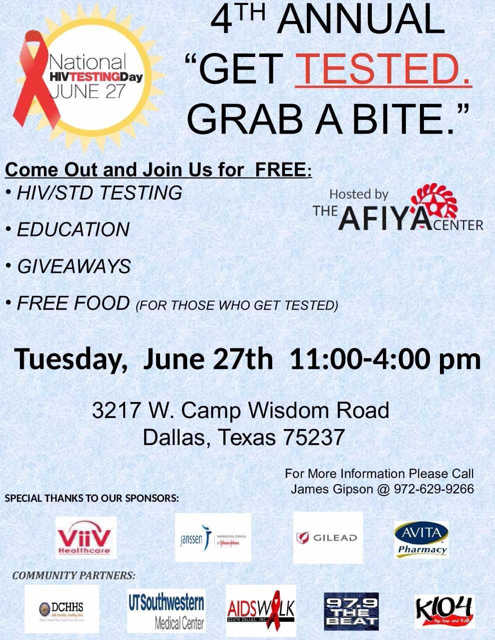 Afiya Free HIV Testing