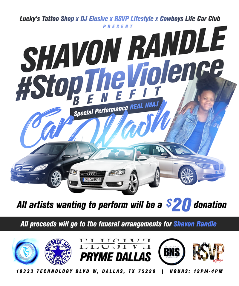 Shavon Randle Stop The Violence Benefit
