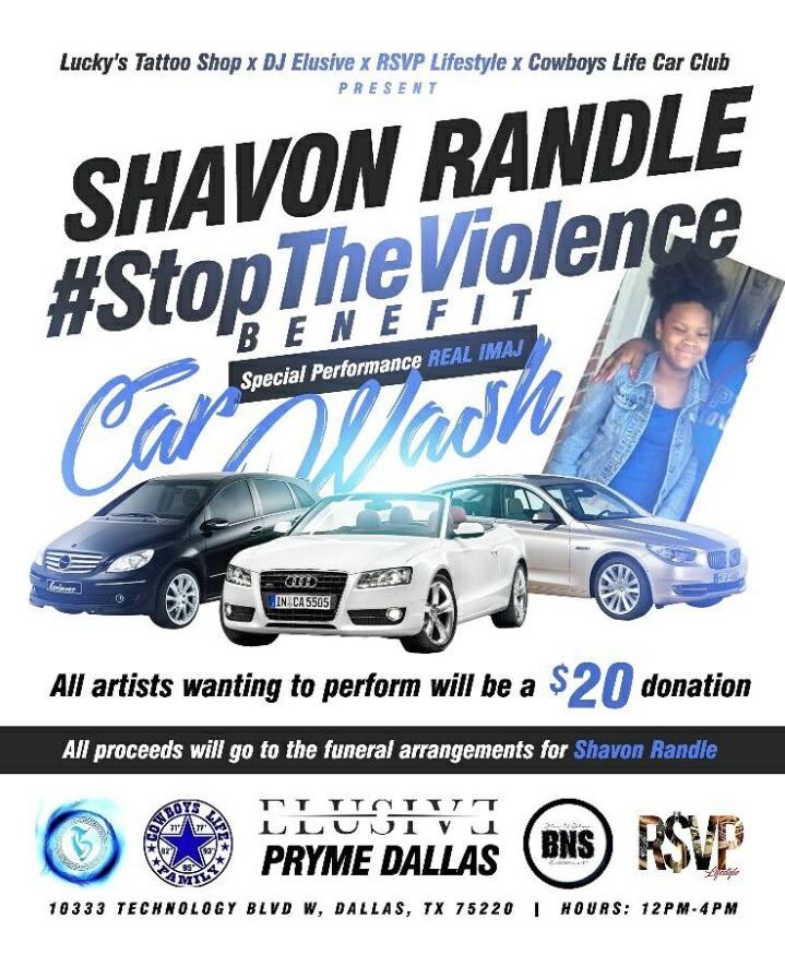 Shavon Randle Benefit