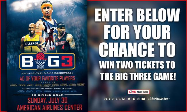 The Big 3Tournament Ticket Giveaway