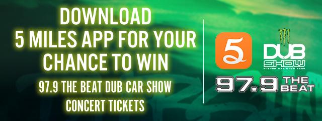 5 Miles App - DUB Car Show Tickets