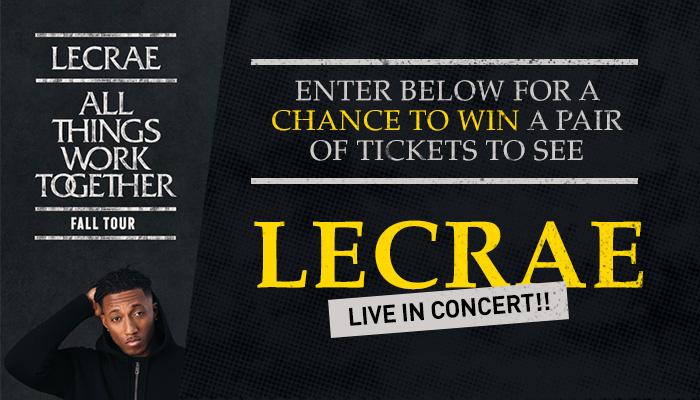 Lecrae Ticket Giveaway