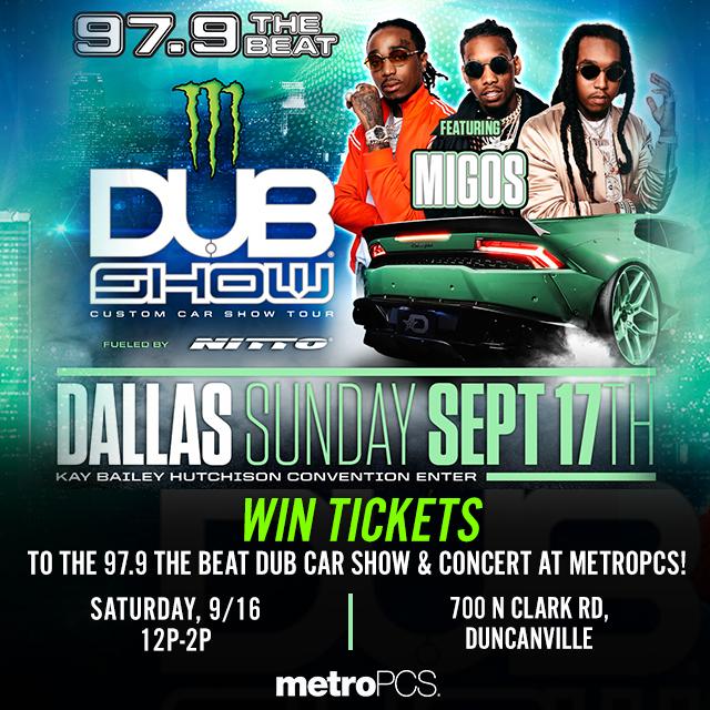 MetroPCS Dub Car Show 2017