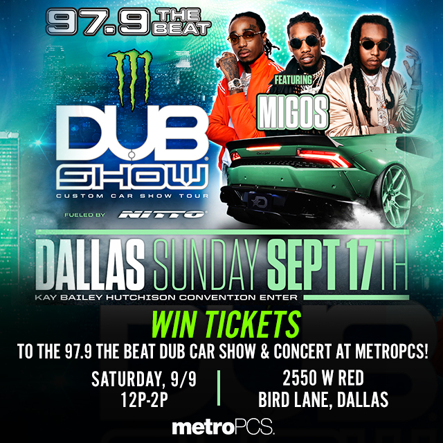 Win Tickets The Beat Dub Car Show At METROPCS The Beat - How much is the car show tickets