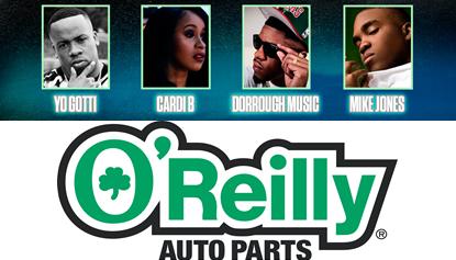 O Reilly Auto Parts Car Show