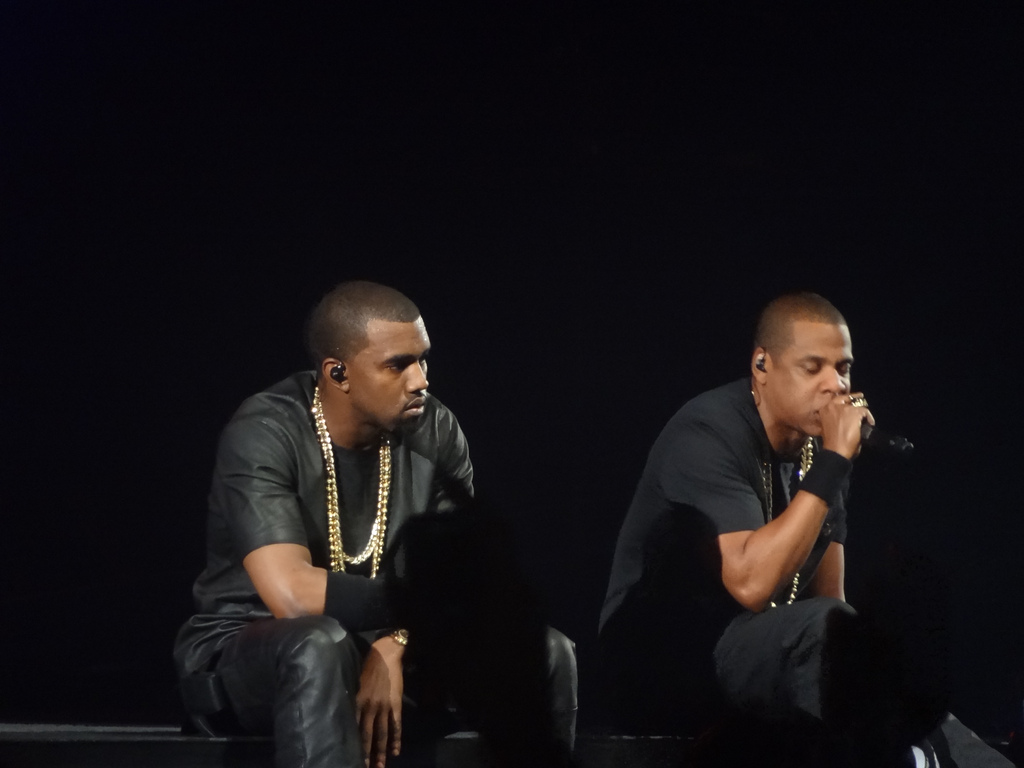 kayne and jay z